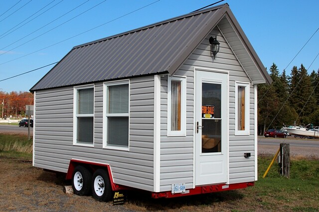 Tiny House outside of Parry Sound Ontario Island Girl