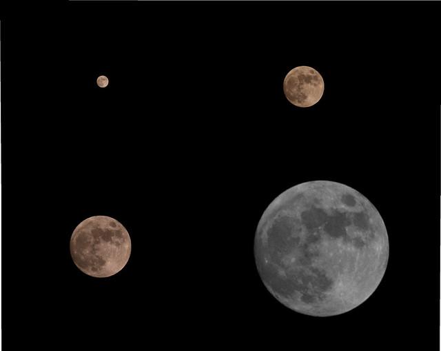 nikon p100 how to take moon