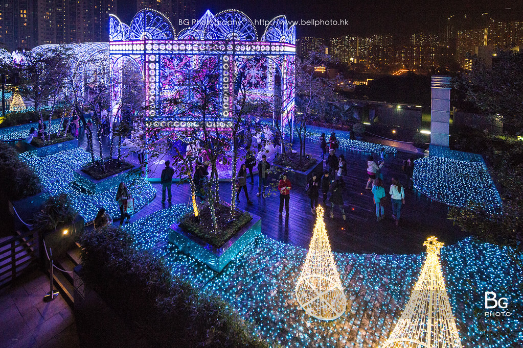 The Romantic Christmas Light Show :: Shatin, Hong Kong ...