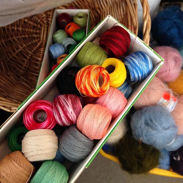 Embroidery floss photo by iHanna of www.ihanna.nu