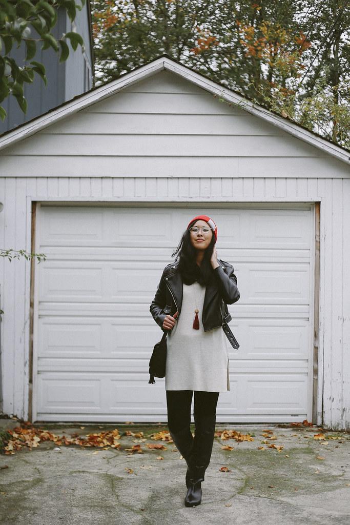 J.Jill monochrome outfit