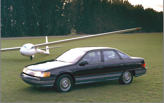 Hate me all you want, but I love the visual intentions of the Mercury Sable.