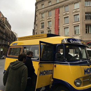 marketing bus barcelona
