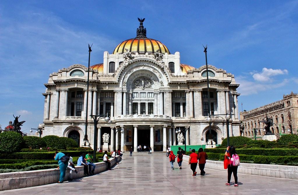 Ciudad de m xico palacio de las bellas artes hoy flickr for Palacio de los azulejos mexico