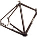 Gunnar Fastlane Disc Cross / Commuter/ Touring Frame - rear view
