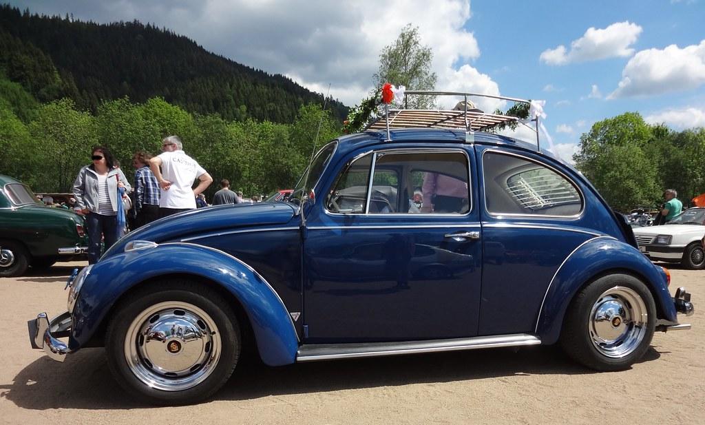 Vw K 228 Fer Blau Mit Klassischem Tuning Foto 2 Seitenansich