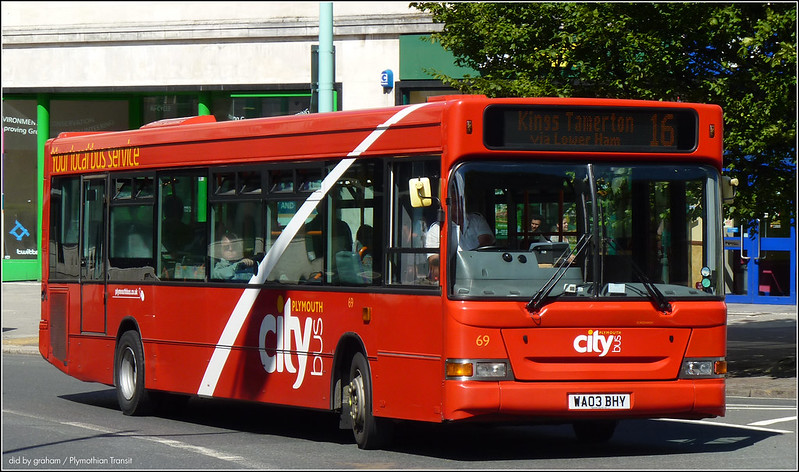 Plymouth Citybus 069 10 July 2014