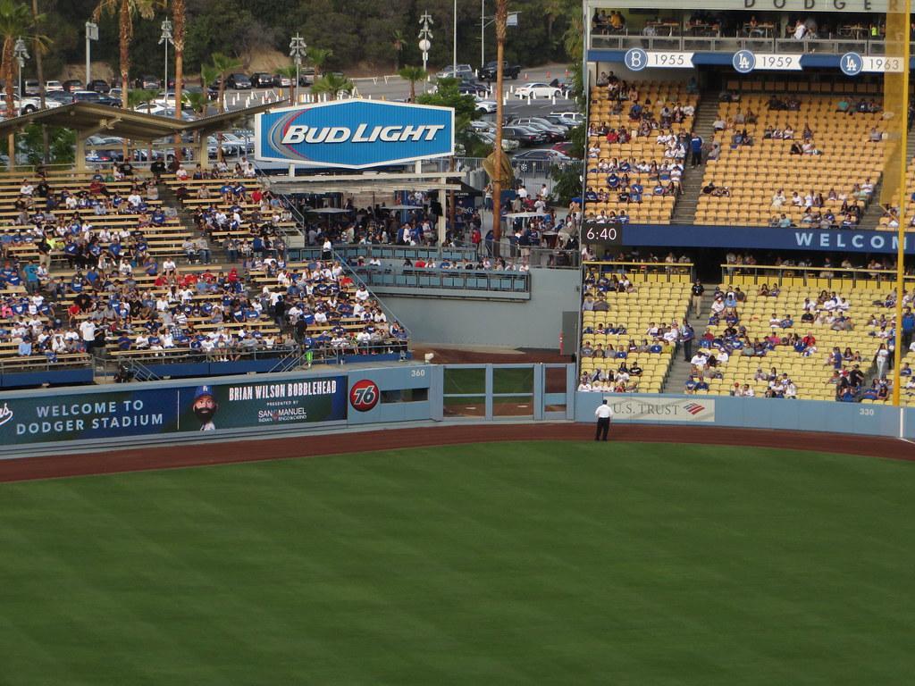 Visitor Bullpen, Dodger Stadium, Los Angeles, California | Flickr