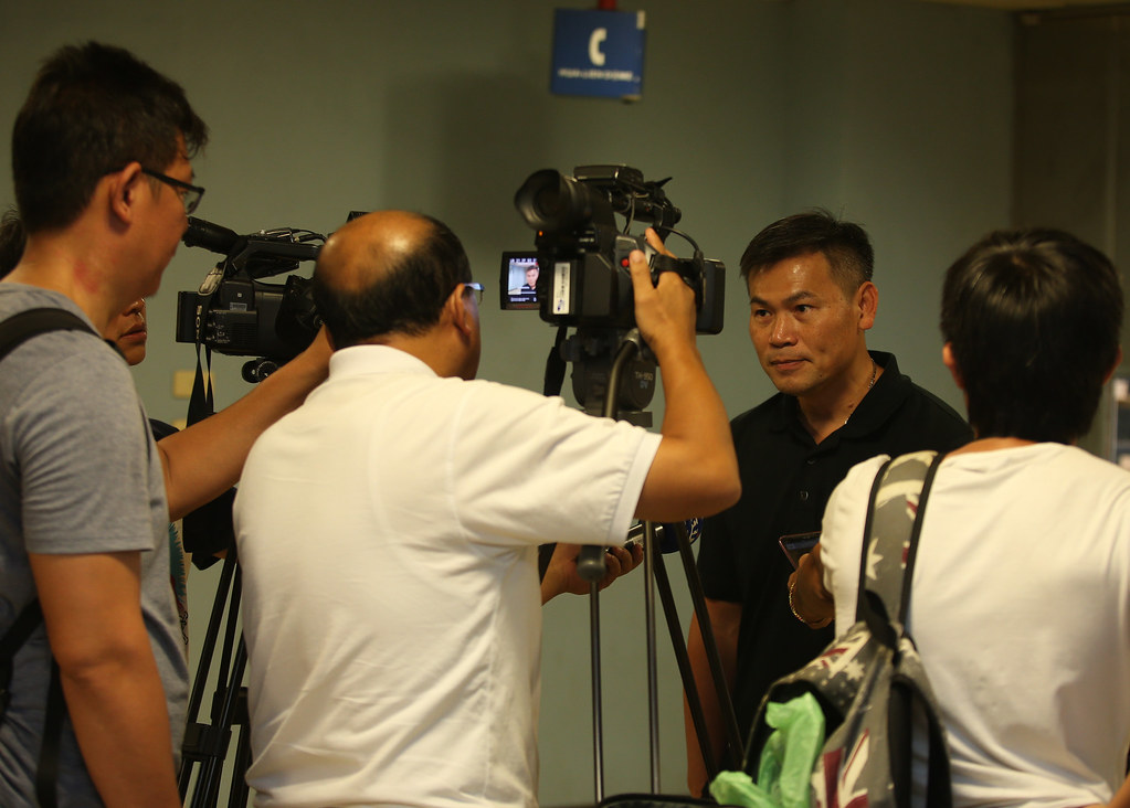 台啤教練周俊三(右2)。(觀護盃資料照)