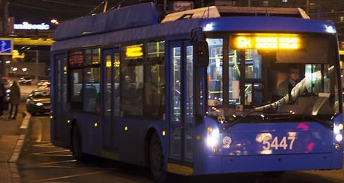 «Нічний» тролейбус повернувся
