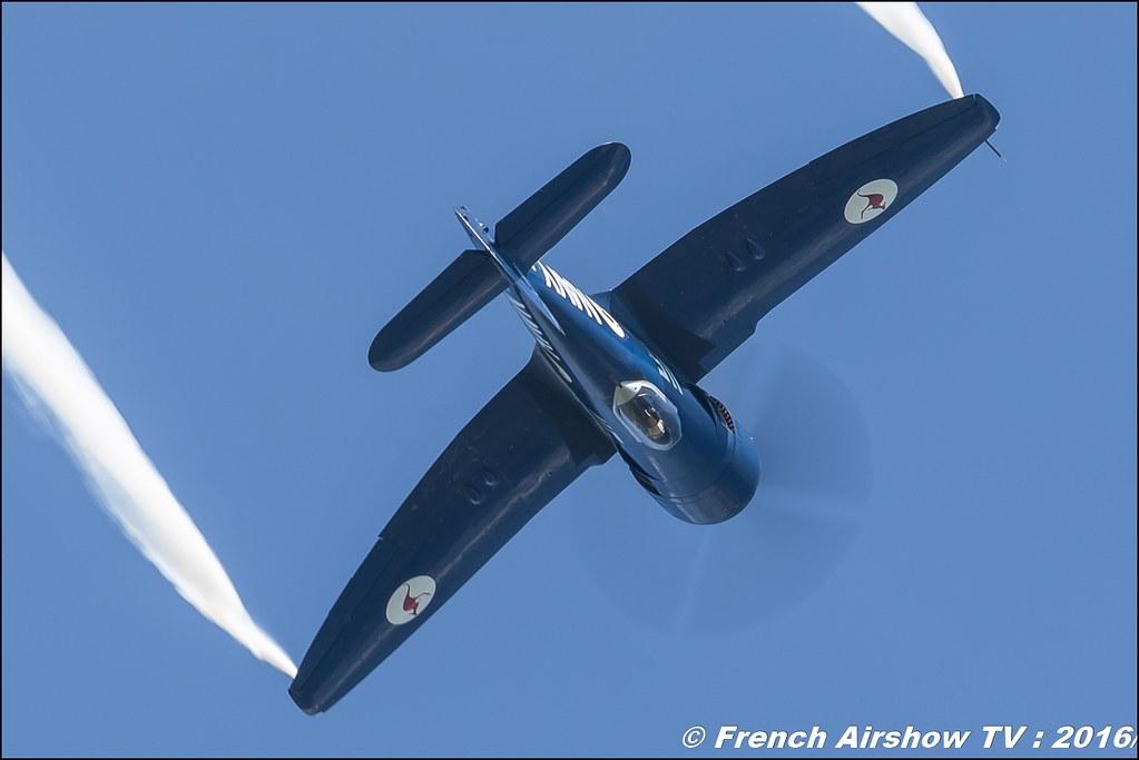 Sea Fury F-AZXJ de Christophe Jacquard , France Warbirds ,airpower zeltweg 2016 , AIRPOWER16 - Österreichs Airshow , Steiermark , Austria, Canon Reflex , EOS System