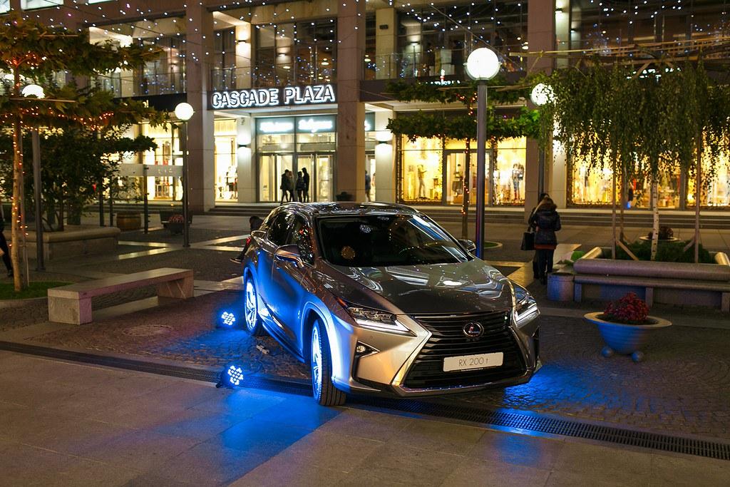 Кроссовер Lexus RX 200t на Екатеринославском бульваре
