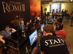 Total War: Rome II at San Diego Comic Con