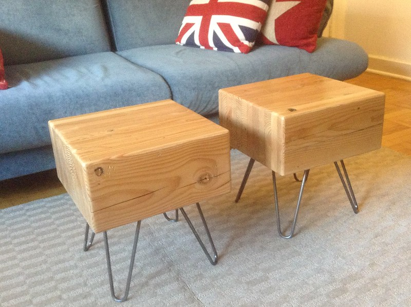 Awesome Coffee Tables Made From Two Large Wooden Blocks Offbeat Home Life