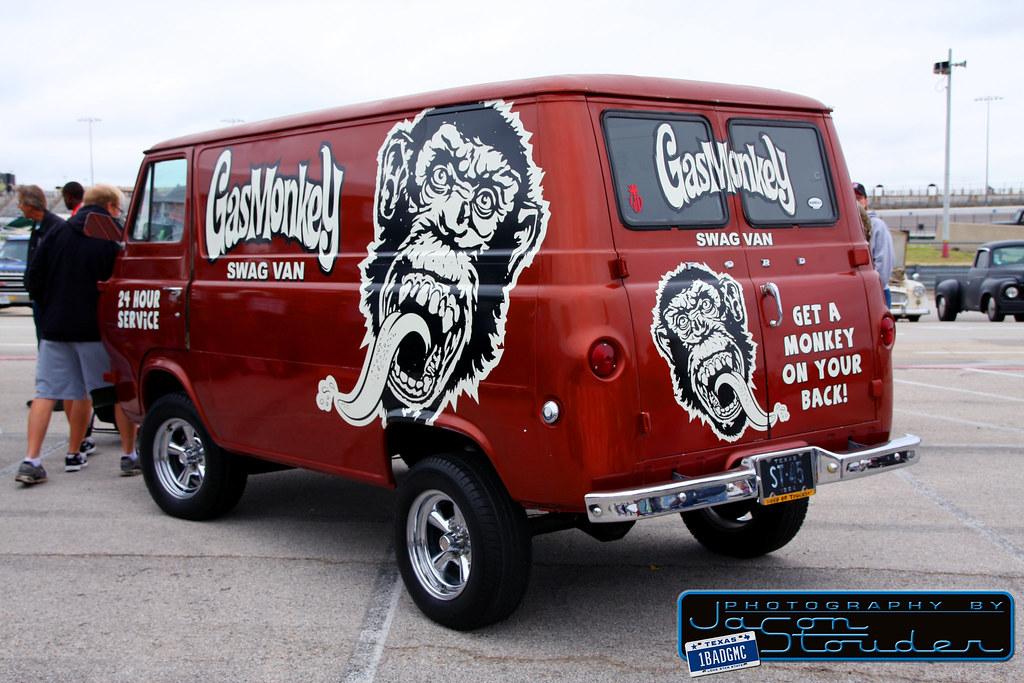 1964 Ford Econoline Gas Monkey Garage Swag Van