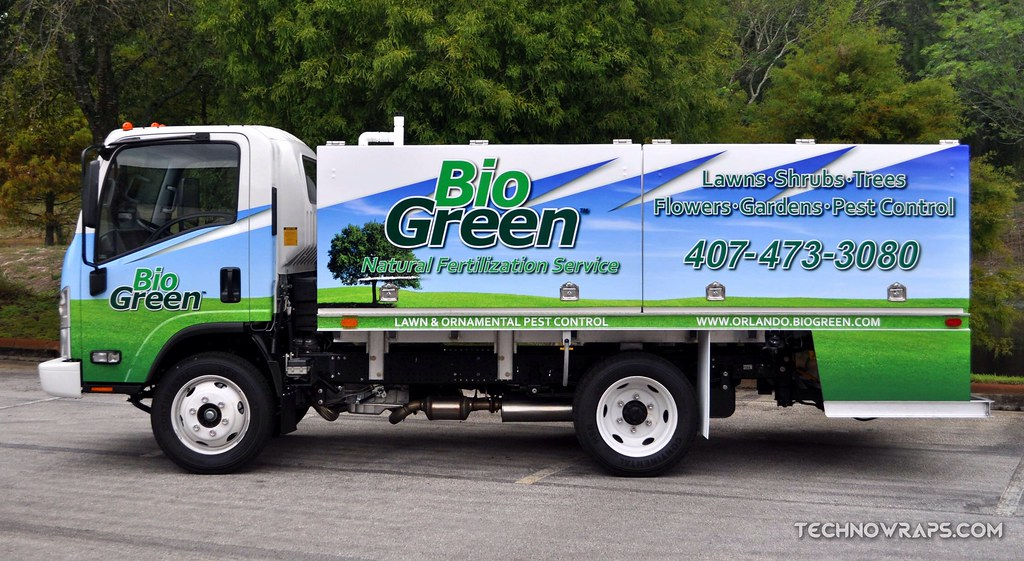 Pest Control And Lawn Care Truck Graphics In Orlando Flickr