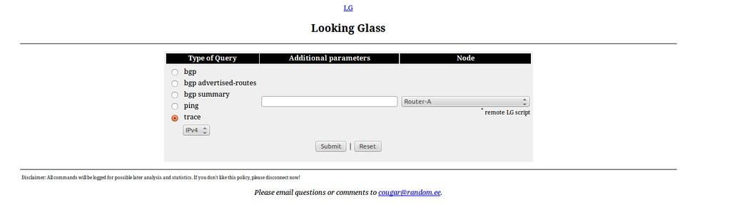 Bgp Looking Glass Cogent