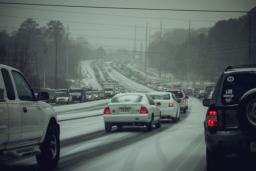 #Snowpocalypse Atlanta 2014 - traffic | by William Brawley