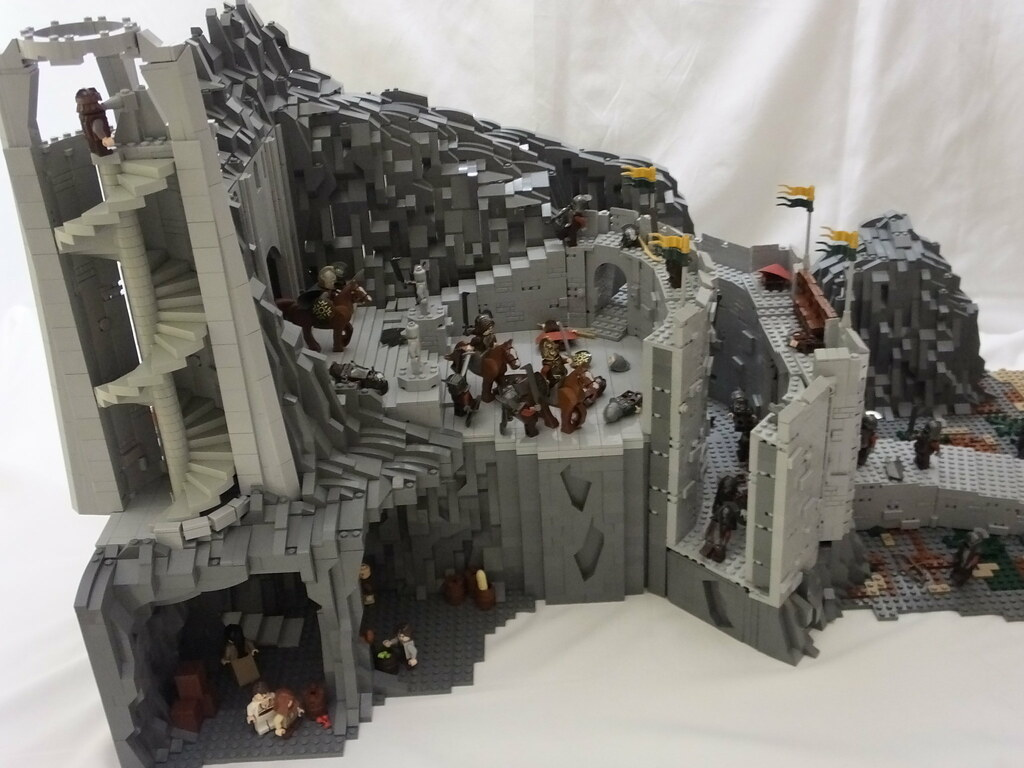Lego Lord Of The Rings Battle