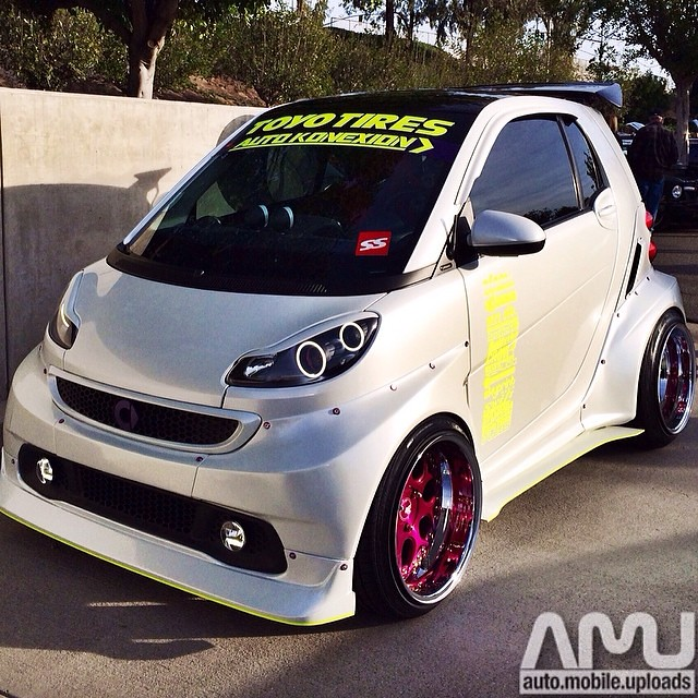 What do you think about this wide body Smart Car spotted a…   Flickr