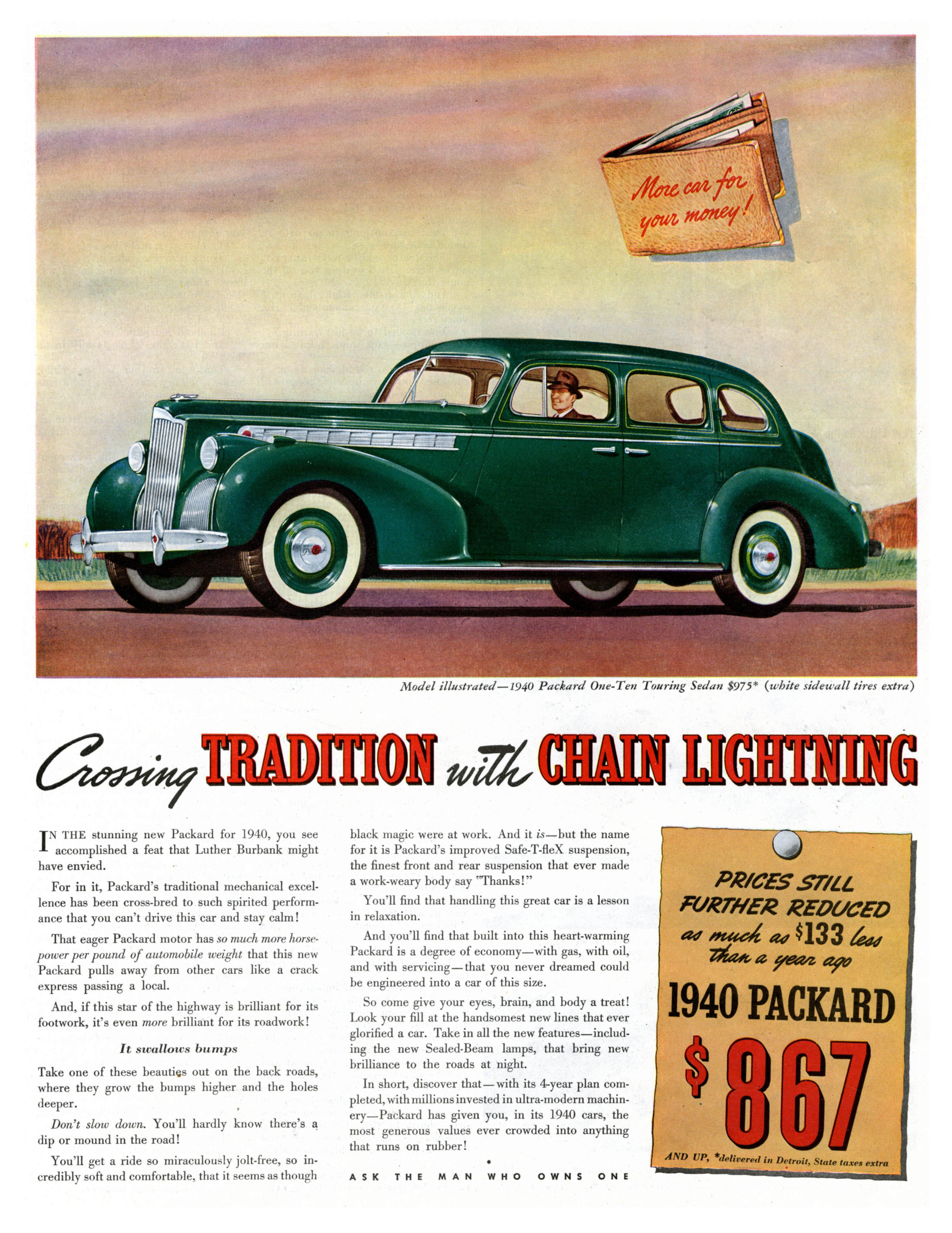 1940 Packard One-Ten Touring Sedan