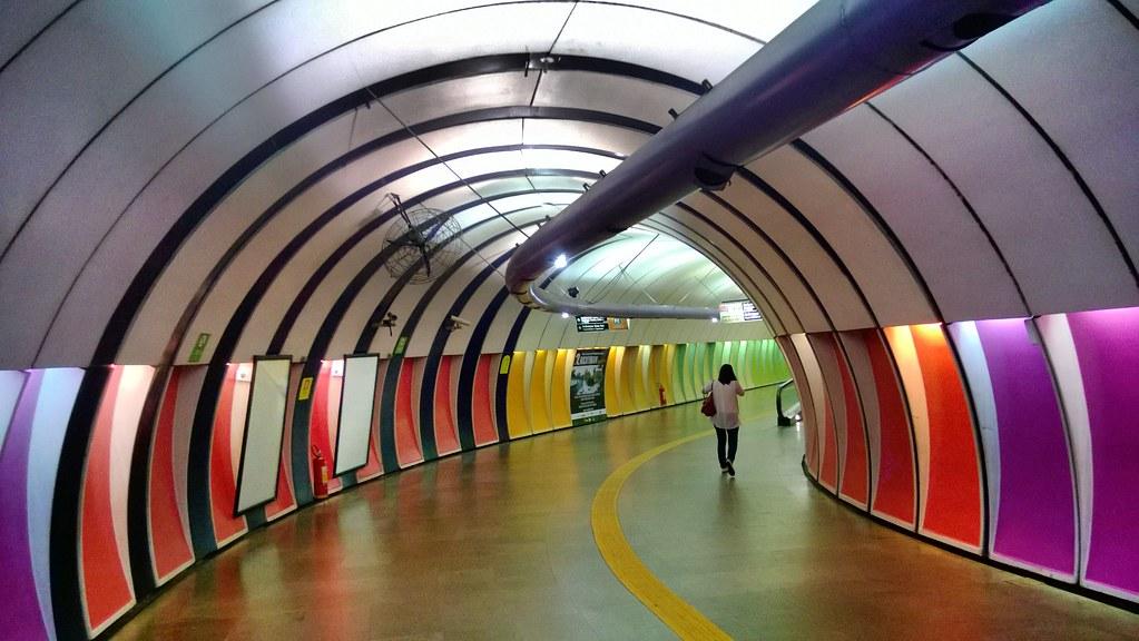 Metr 244 Rio De Janeiro Copacabana Subway Copacabana Esta 231 227 O