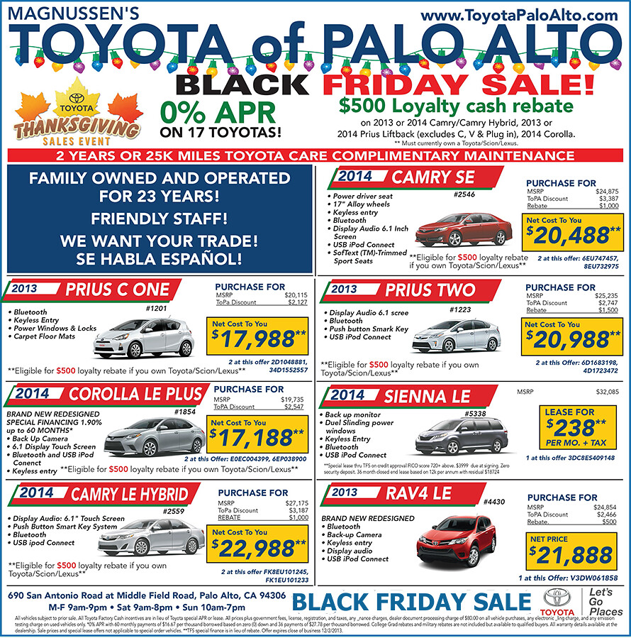 Black Friday  Cars Lease