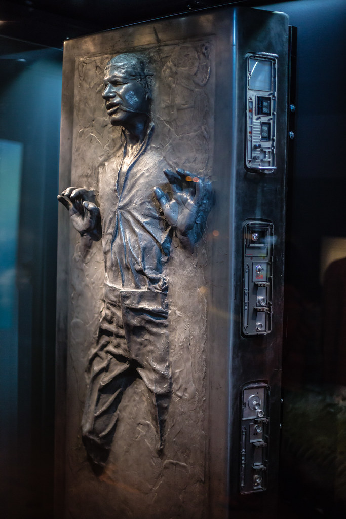 han frozen in carbonite wars identities flickr