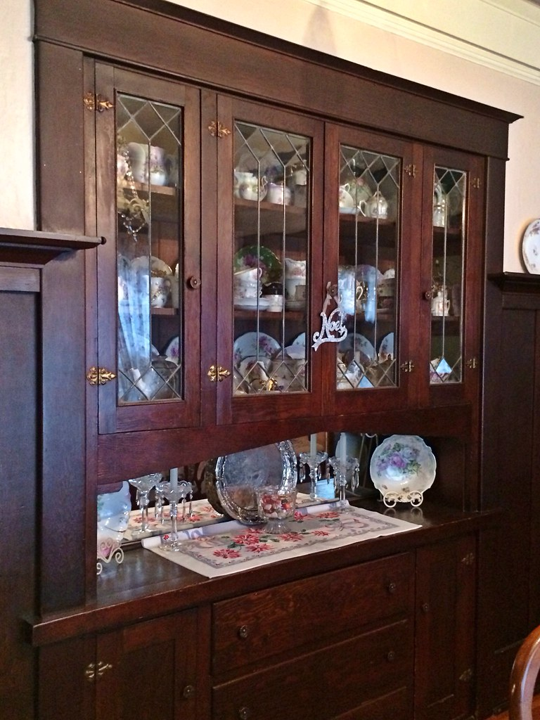 White Living Room Hutch