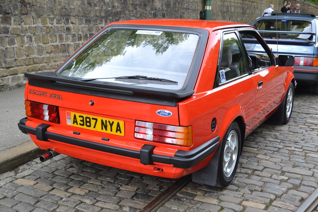 1983 Ford Escort Mark III XR3i � A387 NYA | Flickr - Photo Sharing!