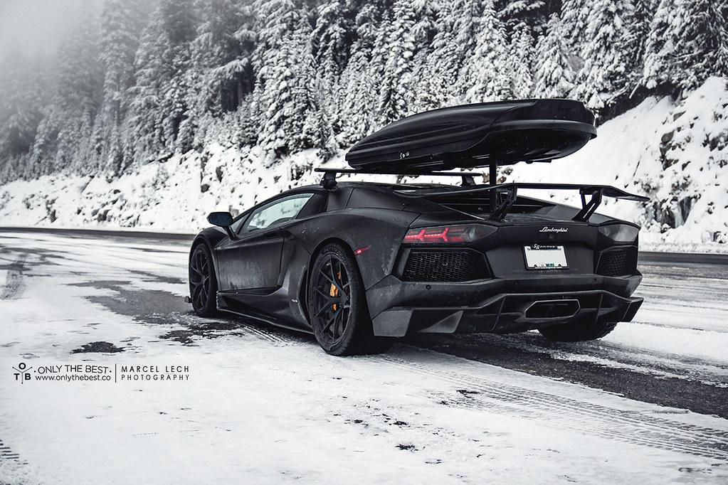 Lamborghini Snowventador Lamborghini Aventador Aka The