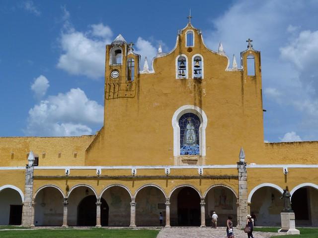 Convento de San Antonio de Padua en Izamal (Yucatán, México)