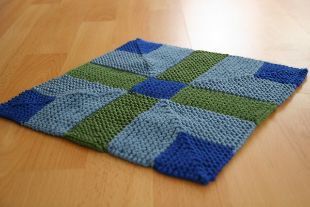 knit double v block 2