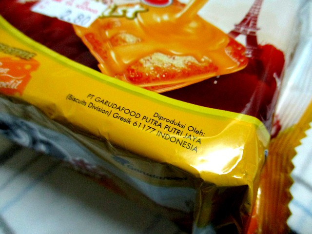 Biscuits from Indonesia 2