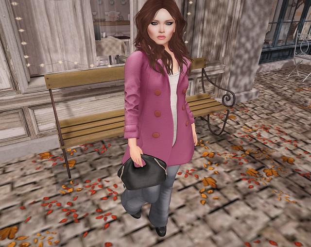 Lorelai's Pink Coat