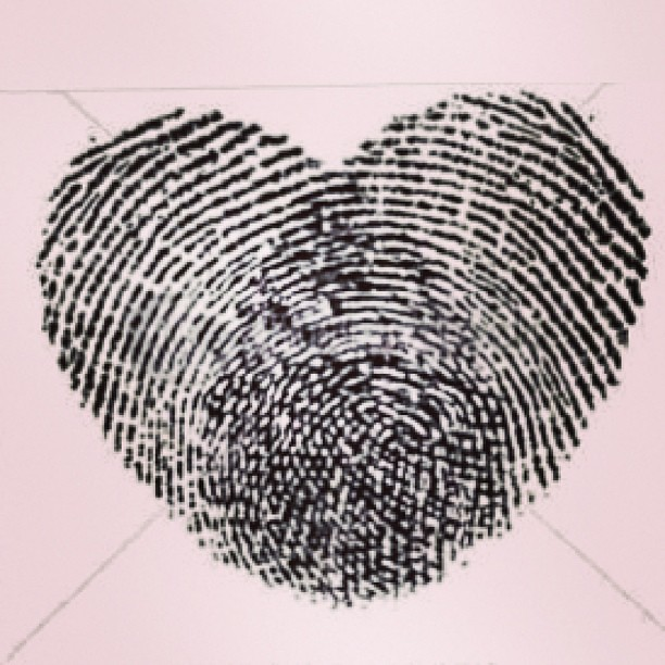 thumbprint love thumbprint tattoo deep love mar flickr. Black Bedroom Furniture Sets. Home Design Ideas