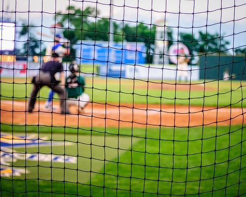 Lexington legends backstop behind home plate by jogdenc flickr