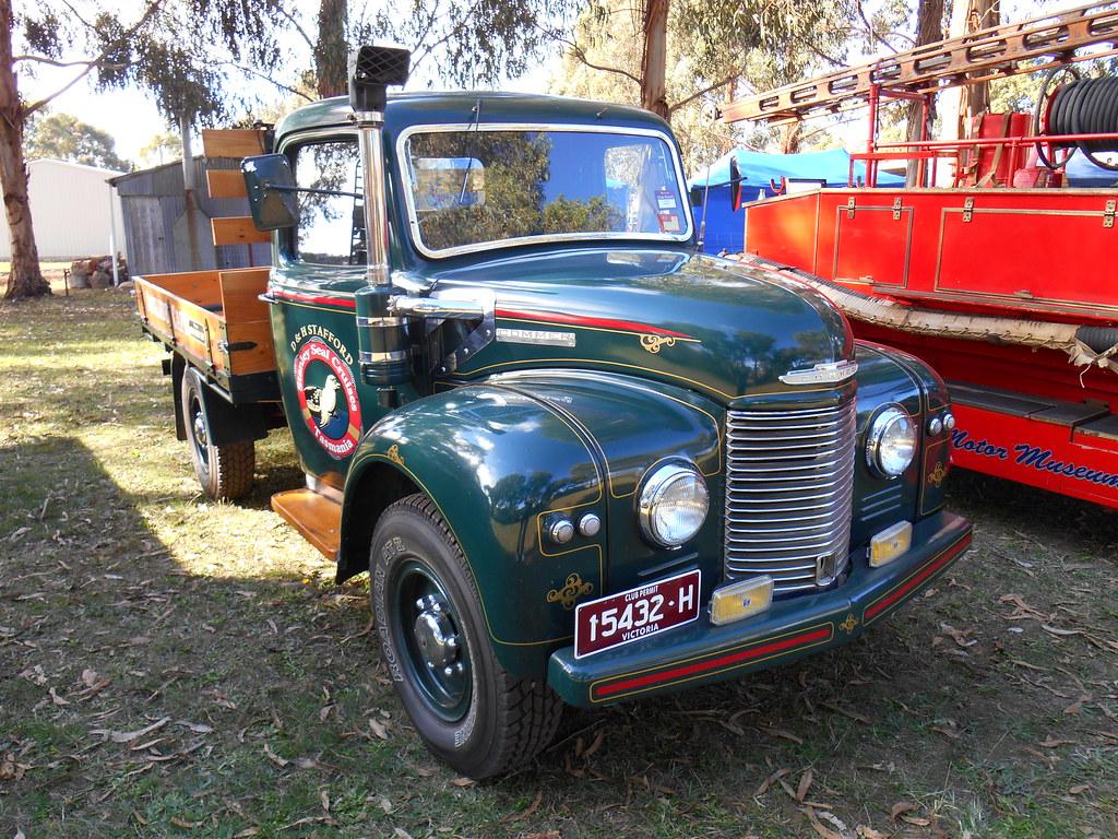 1952 Commer Karrier Truck   Rare 1952 Commer Karrier Truck t