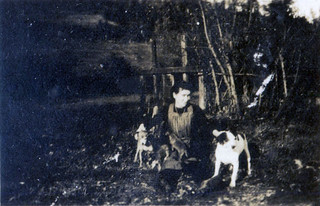 The miller's daughter with pets