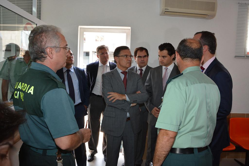 Viaje del secretario de estado de seguridad francisco mar for Oficina extranjeria alicante