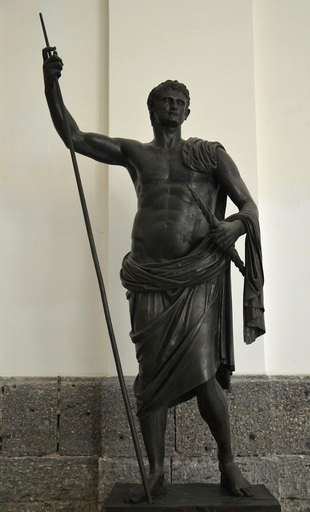 Augustus, 63 BC-14 AD, Roman emperor Photographic Print