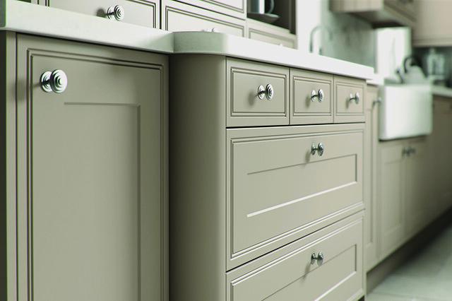 Grey Kitchen Cupboard Doors