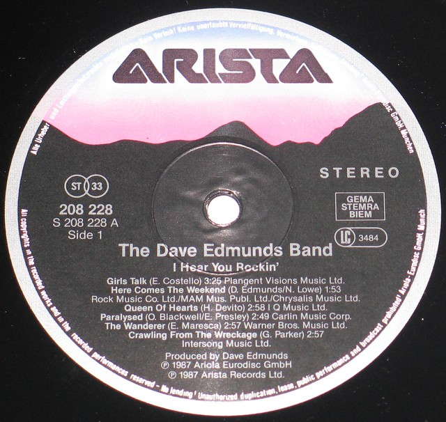 Dave Edmunds Band - I Hear You Rockin