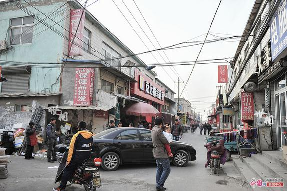 皮村街景。(來自網路)
