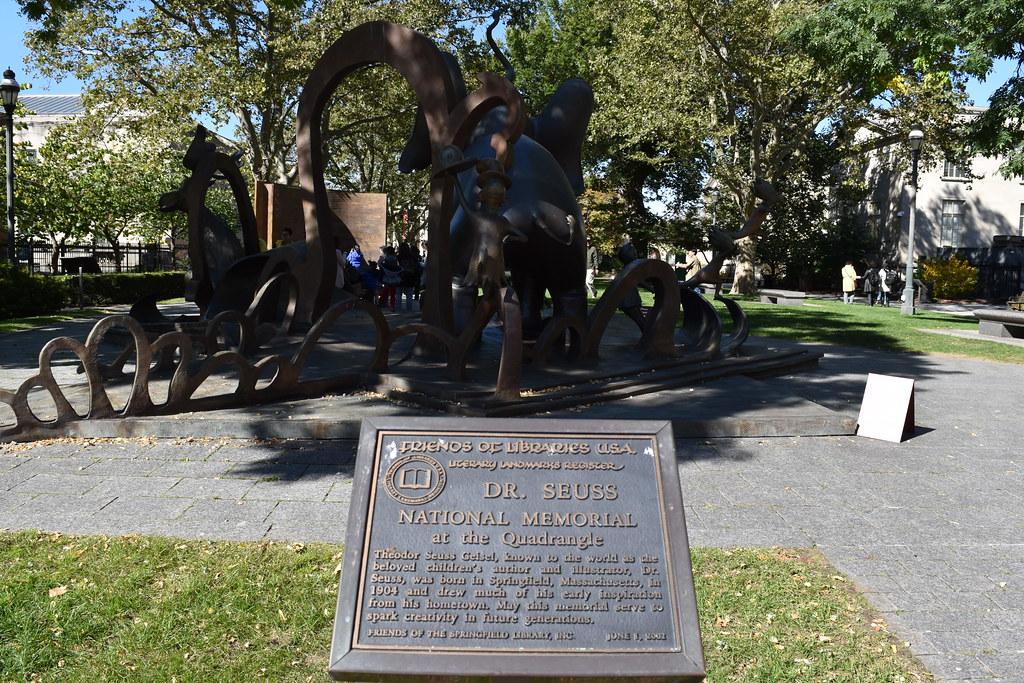 The Dr Seuss National Memorial Sculpture Garden At The Qu Flickr