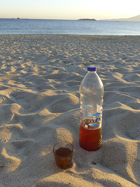 le krassi de Tito au bord de l'eau