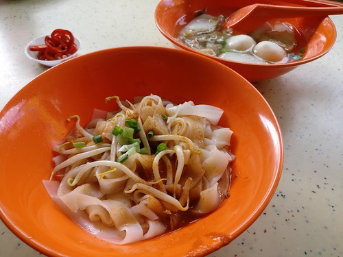 Chai Chee Minced Meat Noodle