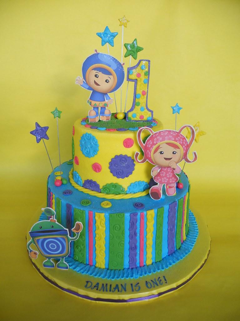 umizoomi birthday cakes