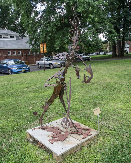 Buccaneer Steel Sculpture Artist Unknown Clifton Sculptu