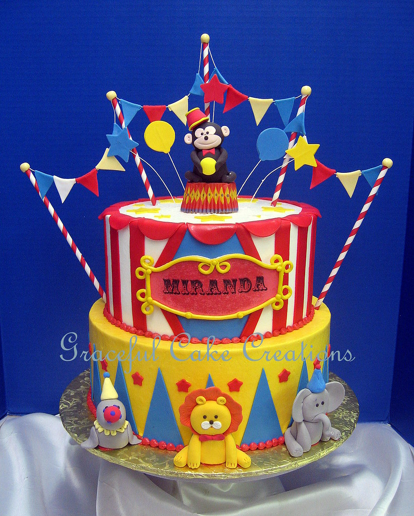 Carnival Party Cake Ideas